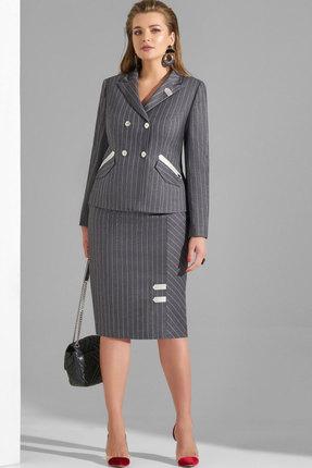 Комплект юбочный Lissana 3796 серый