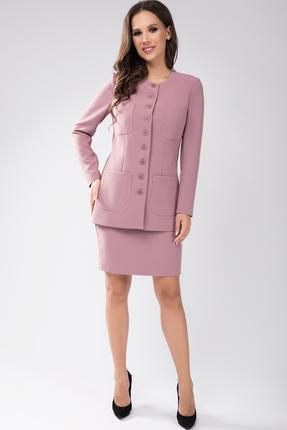 Комплект юбочный Teffi style 1434 розовые тона фото