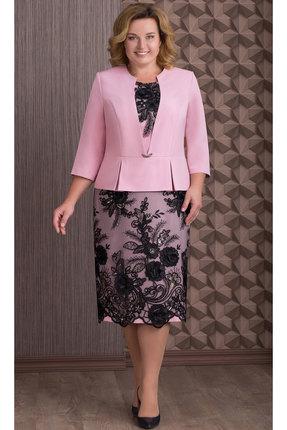 Платье Aira Style 645 розовыйе тона