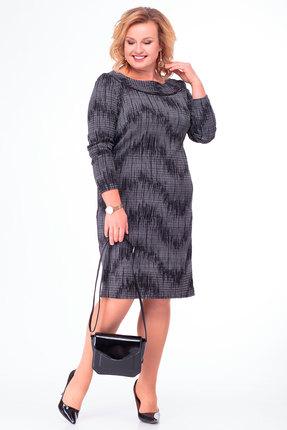 Платье Anelli 729 серый