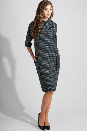 Платье Axxa 54045Е черные тона