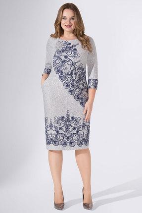 Платье Avanti Erika 886-5 серый