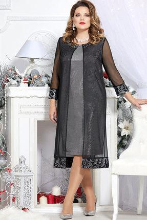 Платье Mira Fashion 4679 чёрный