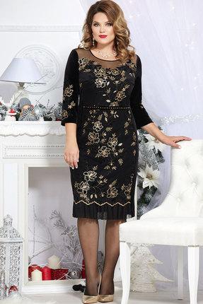 Платье Mira Fashion 4683 чёрный