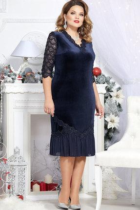 Платье Mira Fashion 4698 тёмно-синий