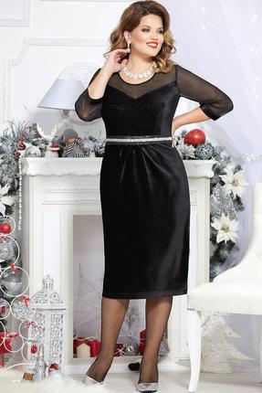 Платье Mira Fashion 4729 чёрный