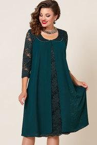 Платье Vittoria Queen 9043/6 изумрудный