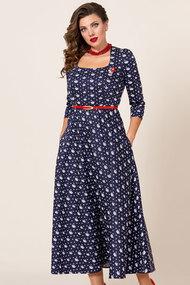 Платье Vittoria Queen 10343-1 синий