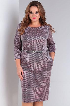 Платье Ollsy 01493 розовые тона