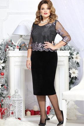 Платье Mira Fashion 4627 чёрный
