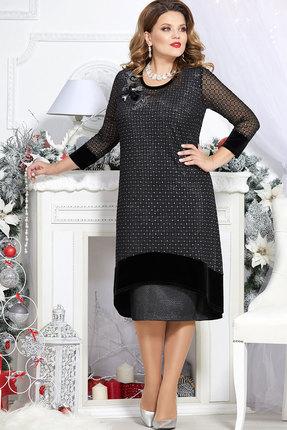 Платье Mira Fashion 4728 чёрный