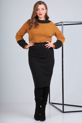 Юбка Viola Style 2640-2 черный