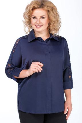 Блузка Медея и К 1999 синий