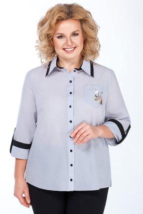 Блузка Медея и К 2007 голубой фото