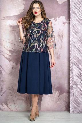 Платье Белтрикотаж 4265 синий