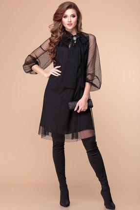 Платье Romanovich style 1-1913 черный