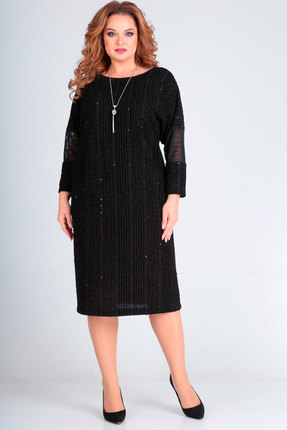 Платье Andrea Style 00235 черный фото