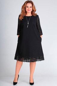 Платье Andrea Style 00236 черный