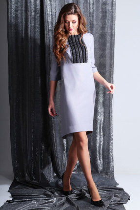 Платье Axxa 55110 сирень
