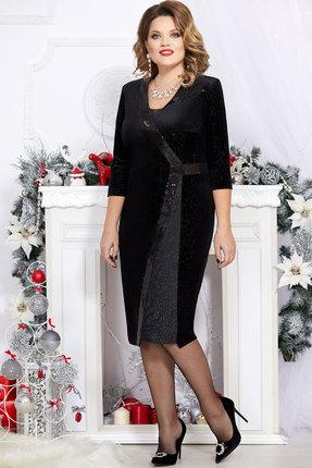 Платье Mira Fashion 4734 чёрный фото