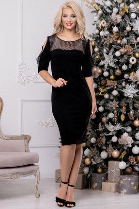 Платье DilanaVIP 1473 черный