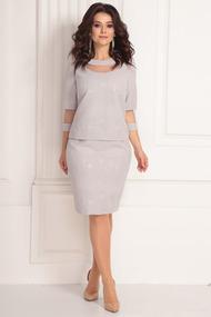Платье Solomeya Lux 637 серый