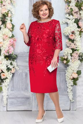 Платье Ninele 5753 красный