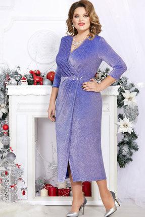Платье Mira Fashion 4745 василёк