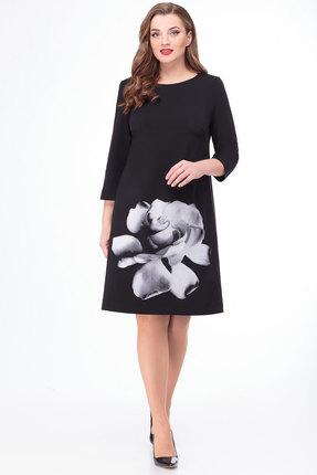 Платье Дали 5426 черный фото