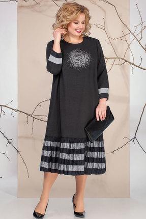 Платье Ivelta plus 1670 черный фото