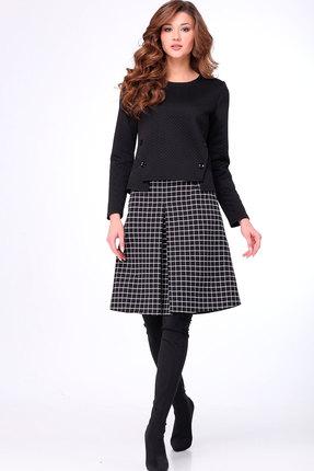 Комплект юбочный Асолия 1224 чёрный фото