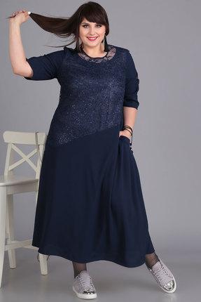 Платье Algranda 3350-с синий