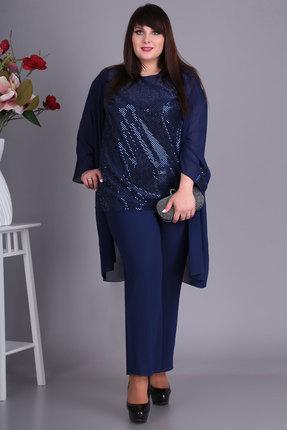 Комплект брючный Algranda 3355-с синий фото