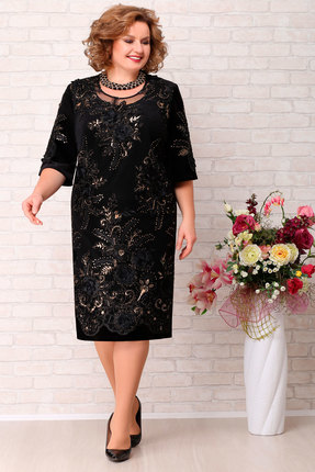 Платье Aira Style 636 черный