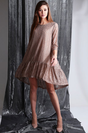 Платье Axxa 55119а беж