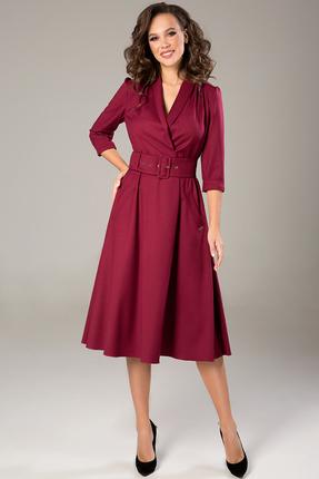 Платье Teffi style 1446 бордо