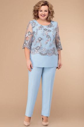 Комплект брючный Svetlana Style 1303 голубой
