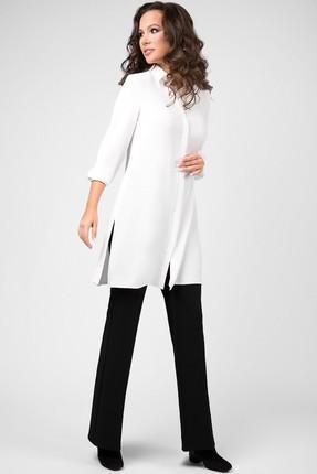 Блузка Teffi style 1467 молочный