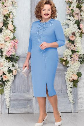 Платье Ninele 5762 голубой