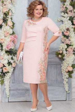 Платье Ninele 7270 пудра