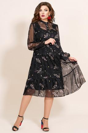 Платье Мублиз 417 черный фото