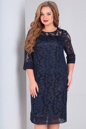 Платье Ollsy 1491 синий