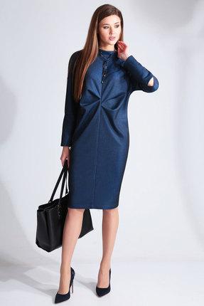 Платье Axxa 55118 синий