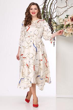 Платье Michel Chic 972 молочный фото