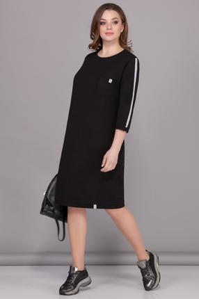 Спортивное платье B&F 2074 черный
