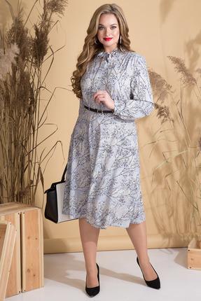 Платье Лилиана 790 серый фото