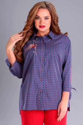 Рубашка Jurimex 2179 сиреневые тона