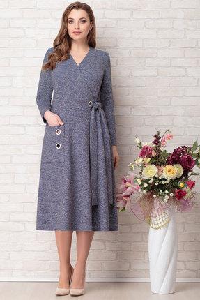 Платье Aira Style 734 синий