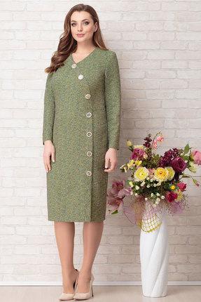 Платье Aira Style 735 зеленый