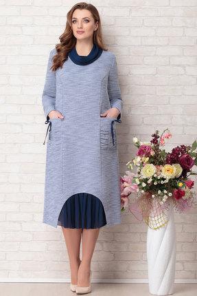 Платье Aira Style 732 синий
